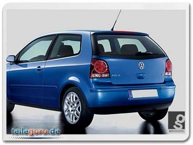 orig vw r ckleuchten polo 9n 9n3 facelift tuning r line. Black Bedroom Furniture Sets. Home Design Ideas